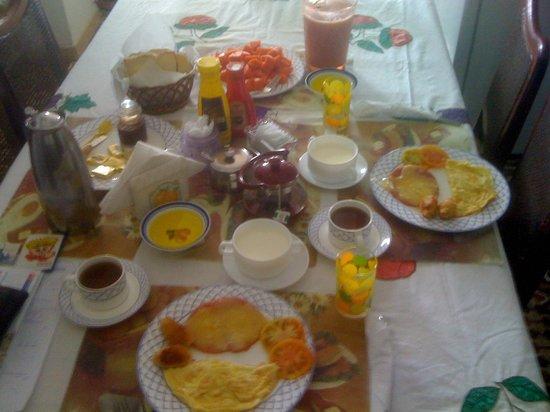 La Villa Sonada: ontbijt