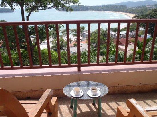 Chanalai Garden Resort : 部屋からの眺め