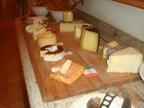 Schlosshotel Fiss: The Cheeseboard