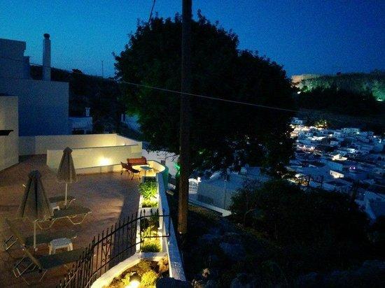 Little Lindos Sea View Studios: Terrace