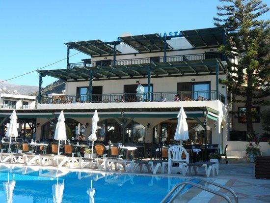 Anastasia Hotel: Dinning room