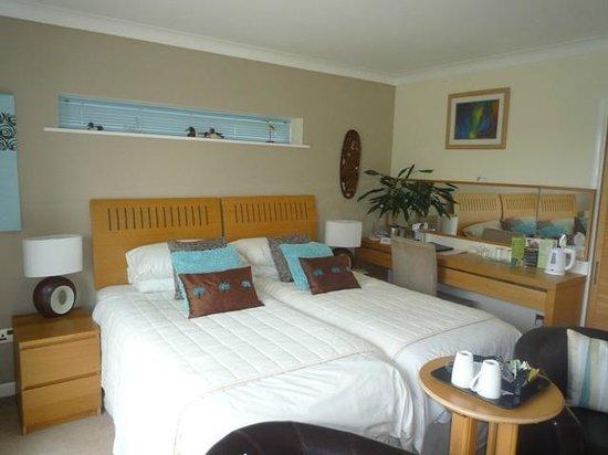 Willow Springs Bed & Breakfast: Pearl Riverside Room with ensuite bathroom