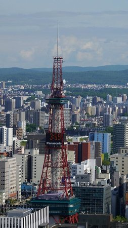 JR Tower Hotel Nikko Sapporo: 窗景,sapporo television tower