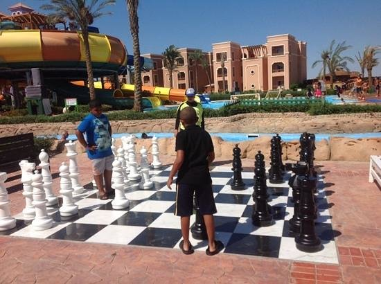 Sea Club Aqua Park : chess