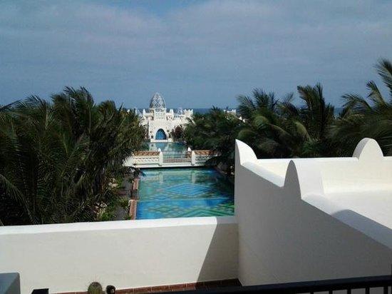 Clubhotel Riu Karamboa : Een klein stukje van de prachtige tuin