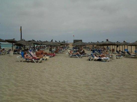 Clubhotel Riu Karamboa : Het strand van het hotel