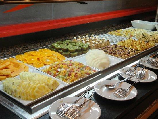 Clubhotel Riu Karamboa : Prachtig en prima eten in de restaurants van het hotel