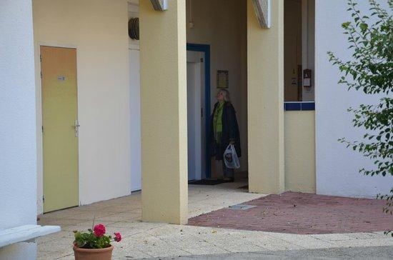 Hôtel Kerloc'h Gwen : L'accès aux étages