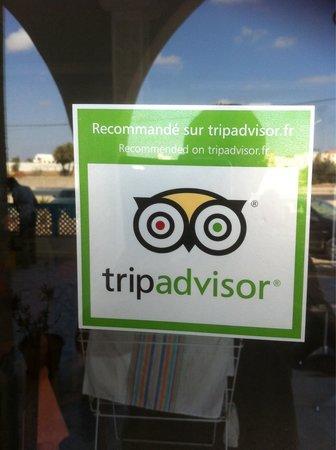 Djerba Nova : Nous somme recommander par tripadvisor