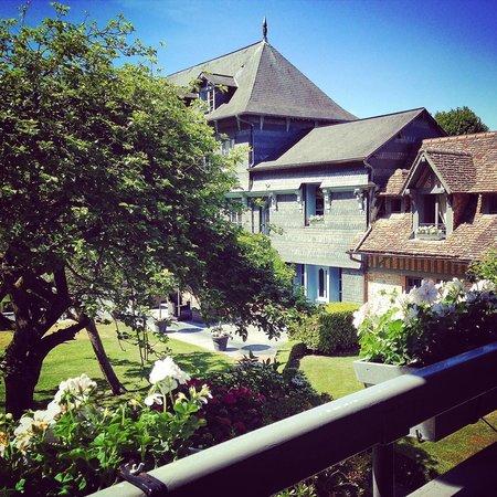 La Ferme Saint Siméon - Relais et Châteaux : Vue du Pavillon