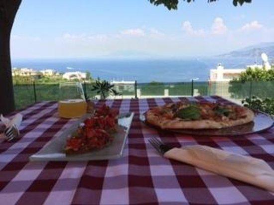 Capri Wine Hotel : Lunch