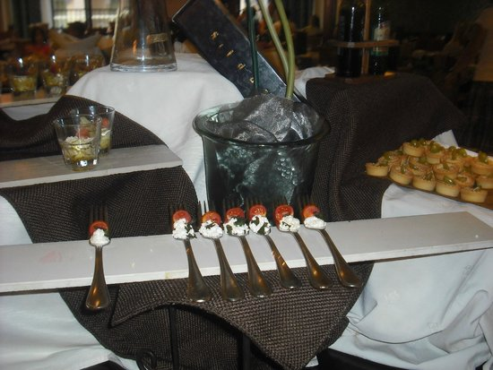 Solana Hotel and Spa: Dinner starters