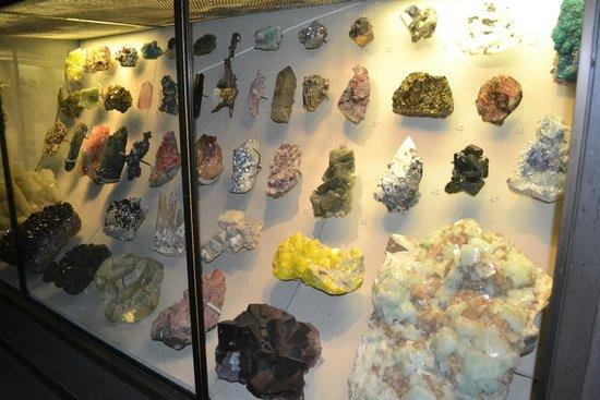 American Museum of Natural History: коллекция минералов
