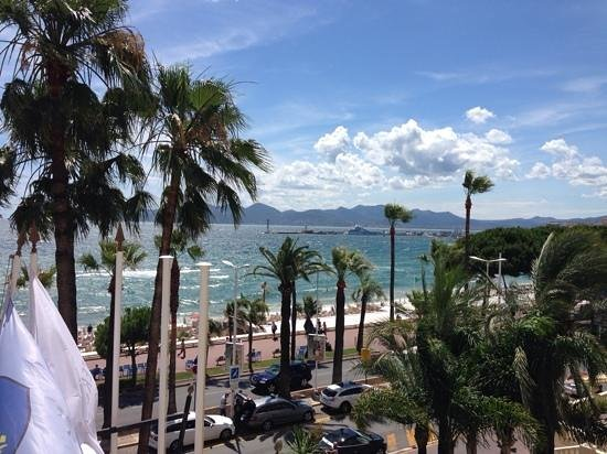 InterContinental Carlton Cannes: VISTA PARA RECORDAR