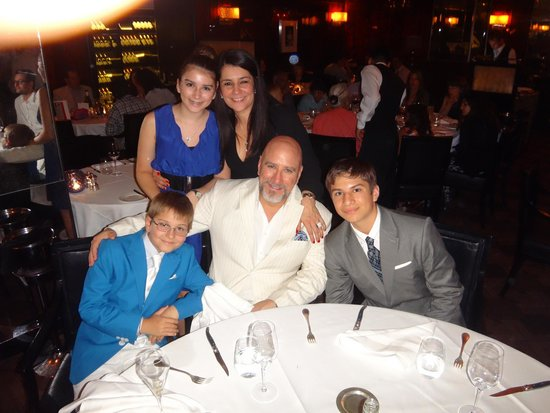 The Savoy Grill : Great for a family dinner.