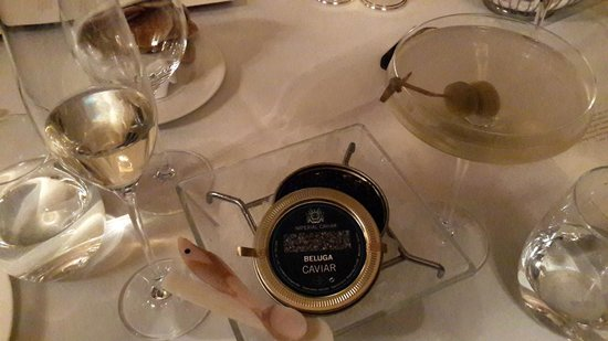 The Savoy Grill : For starters.