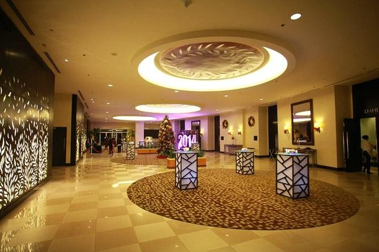 Grand Hotel Foyer : Grand ballroom foyer picture of taal vista hotel