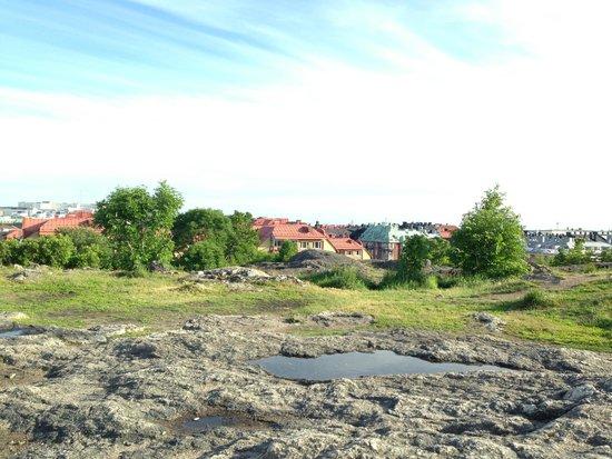 Södermalm : уютнейшее плато на Skinnarviksberget