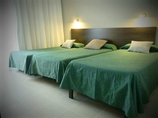 Hostal Tahiti: habitación triple