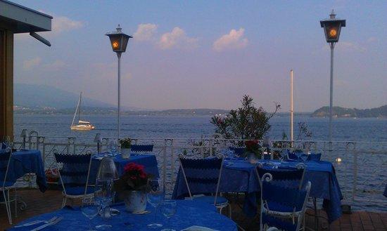 Hotel Milano: terrazza del ristorante dell'hotel