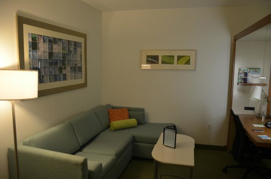 SpringHill Suites by Marriott Orlando at SeaWorld: couch