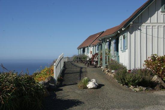 Lucia Lodge: Rangée des 4 cabins