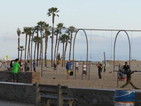 Muscle Beach: The challenge.