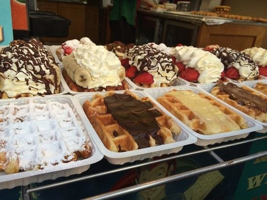 Hotel Leopold Brussels : belgium waffles