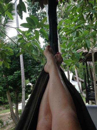 Shiralea Backpackers Resort: Relaxing in the Hammock
