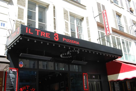 Photo of Italian Restaurant Il Tre at 3, Rue Des Petits Carreaux, Paris 75002, France