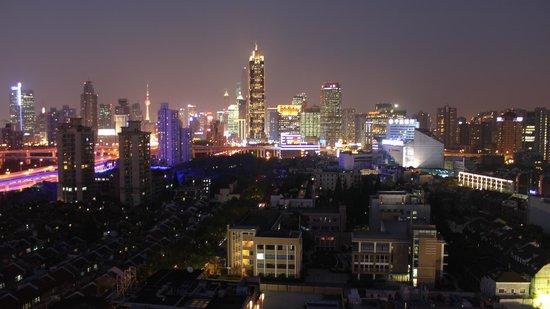 Jin Jiang Tower Hotel: Shangai Wiew