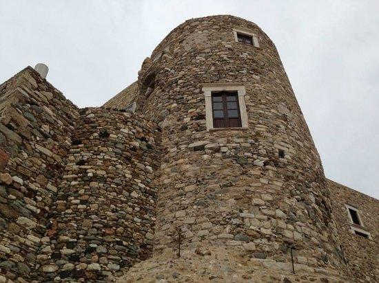 Città di Naxos, Grecia: the castle