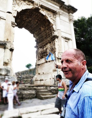 City Wonders: Stefano at the Forum
