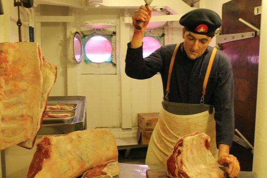 HMS Belfast: Küche