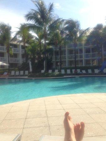 Hilton Fort Lauderdale Marina: Good medium sized pool area