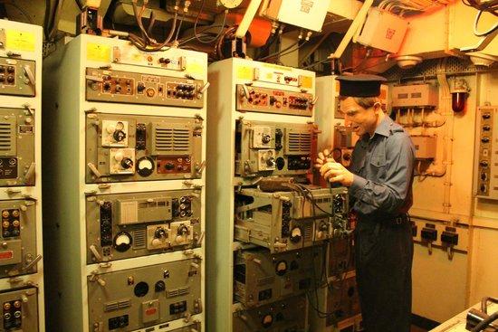 HMS Belfast: Maschinenraum