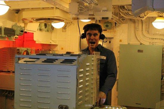 HMS Belfast: Steuerraum