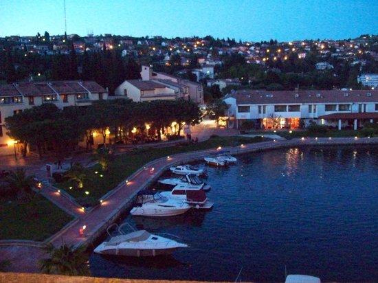 Hotel Histrion: la darsena al tramonto