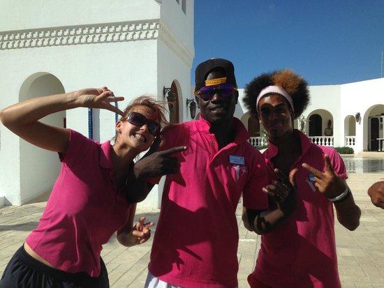Mercure Hurghada Hotel: une partie des animateurs