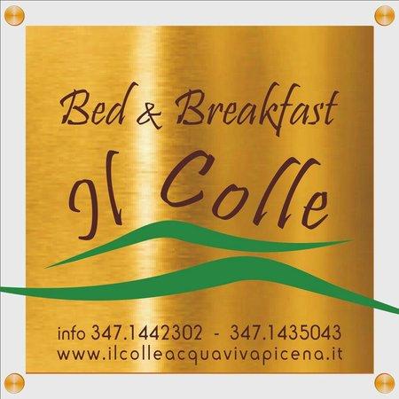 Il Colle Bed & Breakfast: insegna