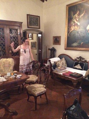 Villa Il Paradisino: Costanza kertoo talon mahtavasta historiasta