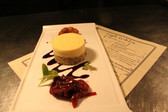 Tigh Giblin : Goat Cheese Cake