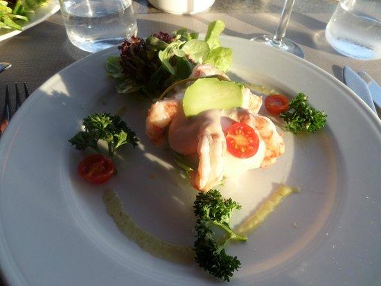 Stay Restaurant: Prawn and Avocado Starter