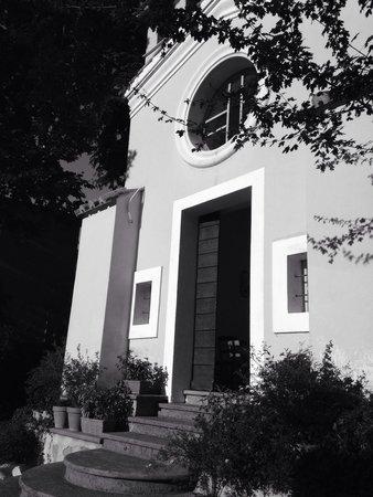 La fantastica chiesetta del Grand Hotel Terme di Stigliano