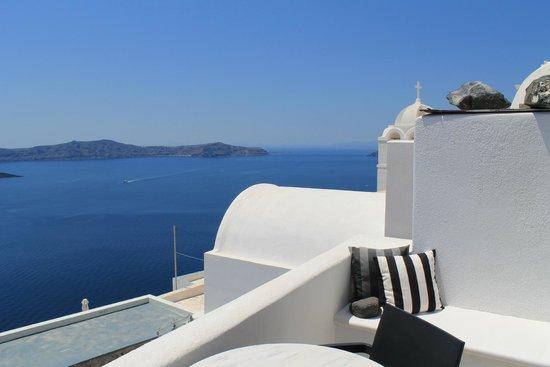 Aigialos Hotel: From the balcony
