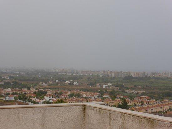 Los Palmitos : vista de Peñiscola
