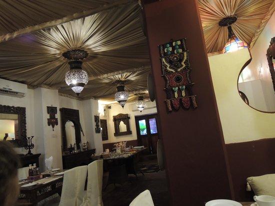 Jafferji House & Spa: the breakfast room/restaurant