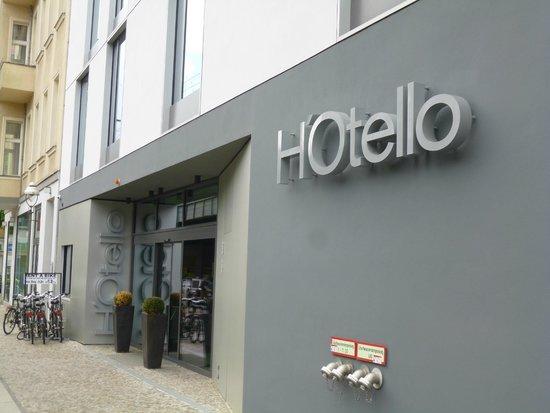 H'Otello K'80: Hotel von außen