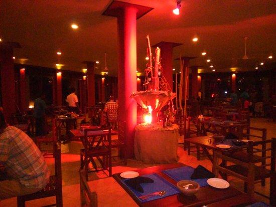 Club Koggala Village: Restaurant