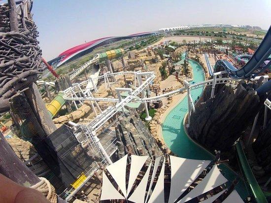 Yas Waterworld Abu Dhabi: Some of the rides!